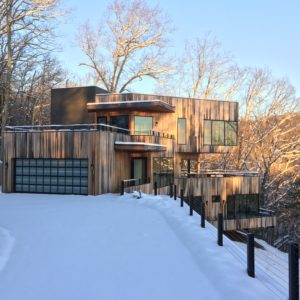 The Prive at Ciel in the snow.